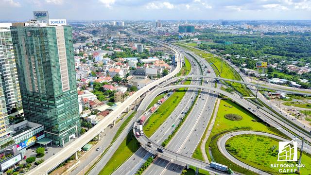 Đây là khu vực có nhiều dự án nhất tại khu Đông TP.HCM vì hạ tầng giao thông kết nối quy mô lớn.