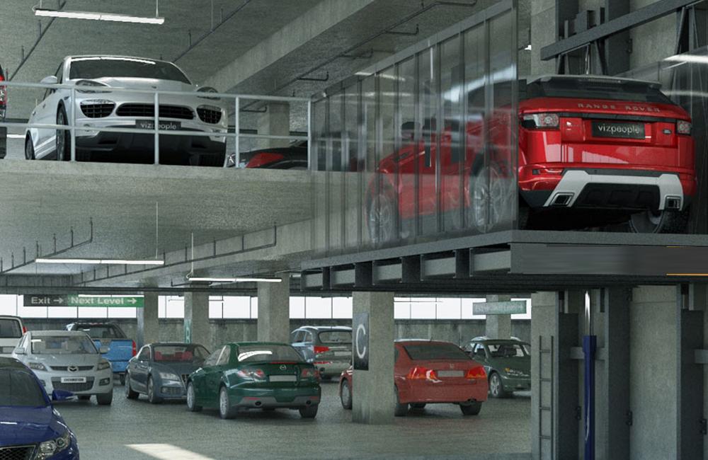 Hệ thống giữ xe thông minh dự đưa vào dự án Alva Plaza